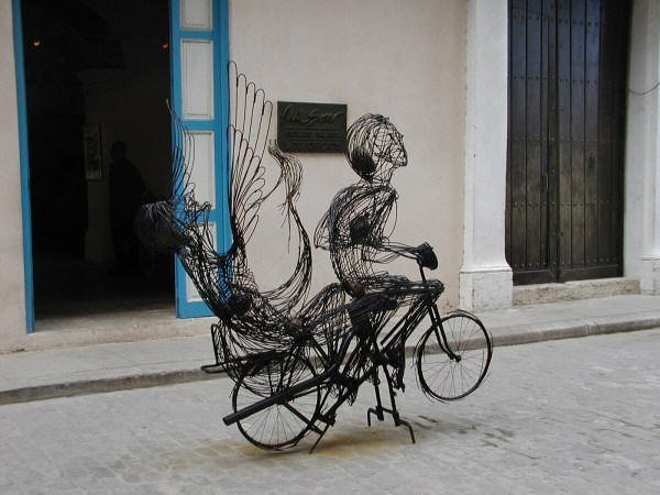 wire sculpture 2000