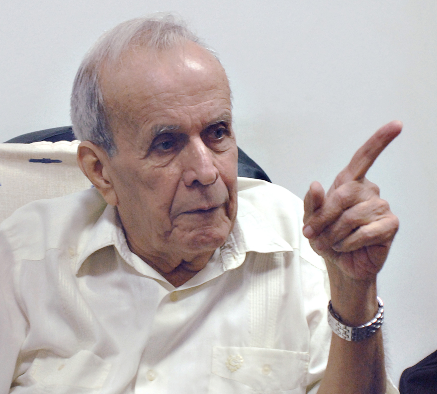 Gerardo Abreu, Fontán, distinguished himself by his integrity, morality, austerity and personal example.
